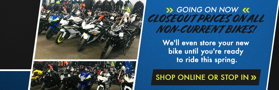 Shop Non-Current Motorcycles at Northern Power Sports in Fairbanks, AK