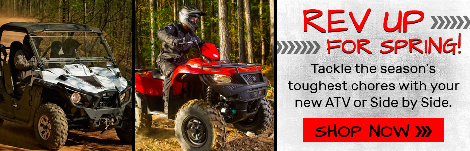 Shop Yamaha & Suzuki ATVs and UTVs in Fairbanks Alaska at Northern Power Sports!