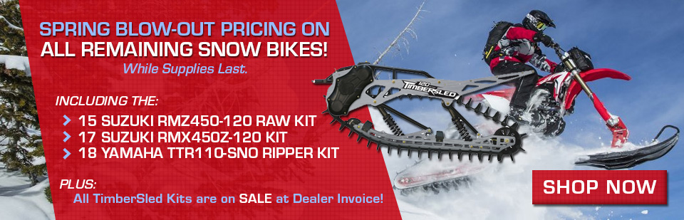 Shop Snow Bike Kits & TimberSled Kits at Northern Power Sports in Fairbanks, AK