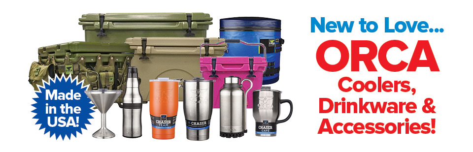 New to Love: ORCA Coolers, Cups, and Accessories