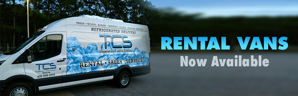 Rental Vans Now Available: Contact us for details.