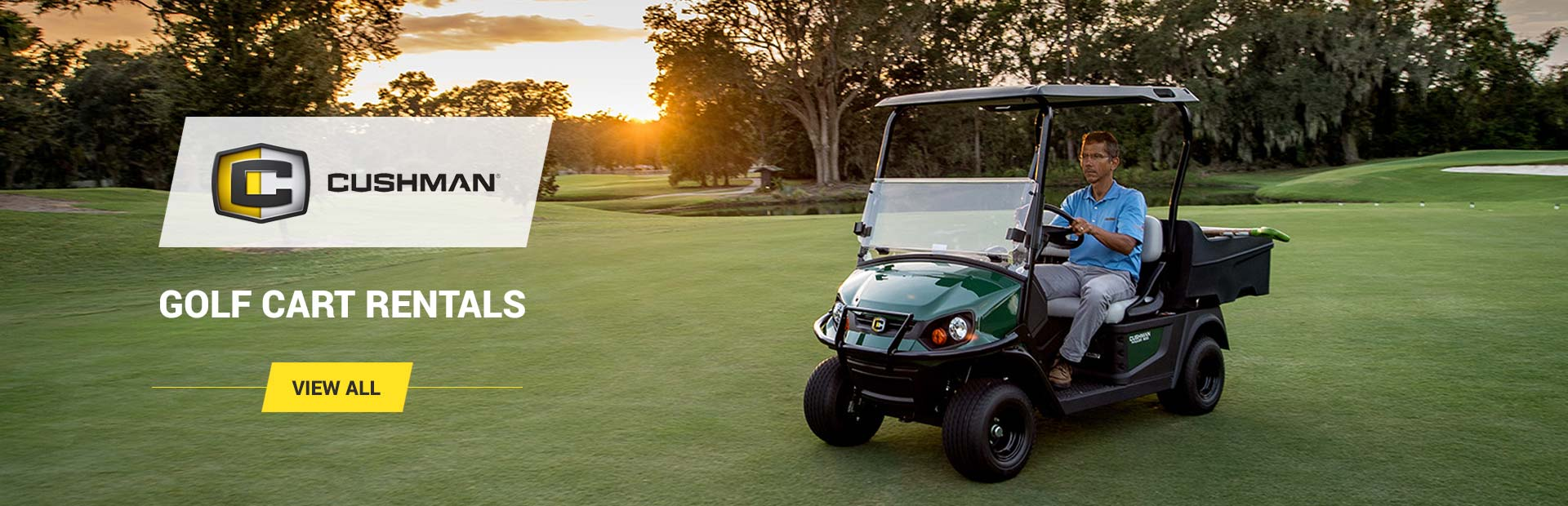 Rent Cushman Golf Carts for Events