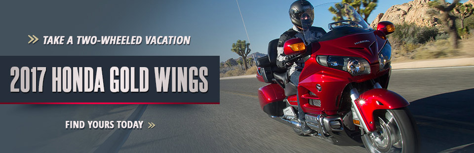 2017 Honda Gold Wings: Click here to see the lineup.
