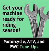 Get your machine ready for riding season!