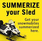 Get your snowmobiles summerized here.