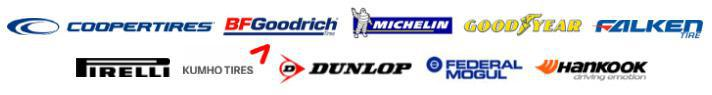 We carry products from Cooper, BFGoodrich®, Michelin®, Goodyear, Falken, Pirelli, Kumho, Dunlop, Federal, and Hankook.