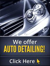 We offer auto detailing! Click here.