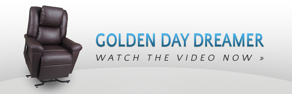 Golden DayDreamer Lift Chair on sale for $1749! See attached video.