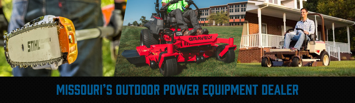 Missouri's Outdoor Power Equipment Dealer - STIHL, Gravely, Grasshopper, & Spartan Mowers