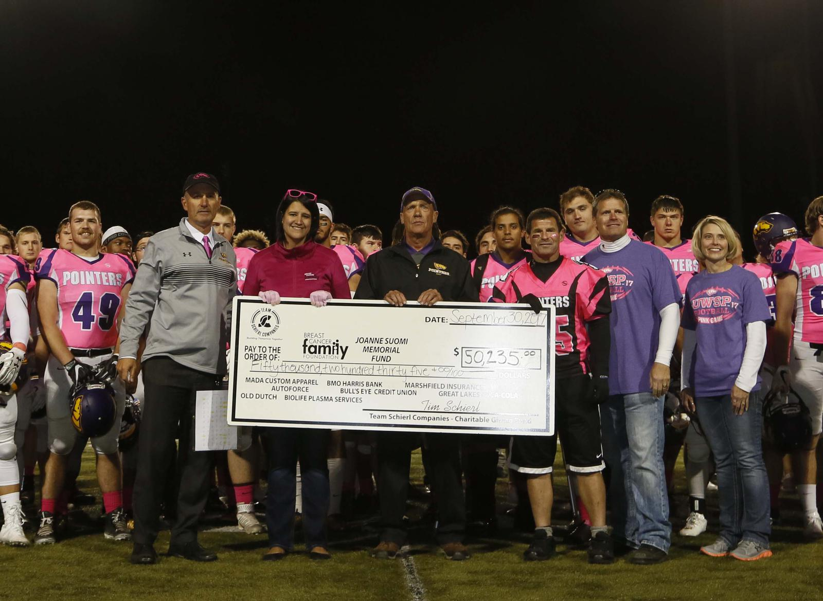 Pink game check presentation