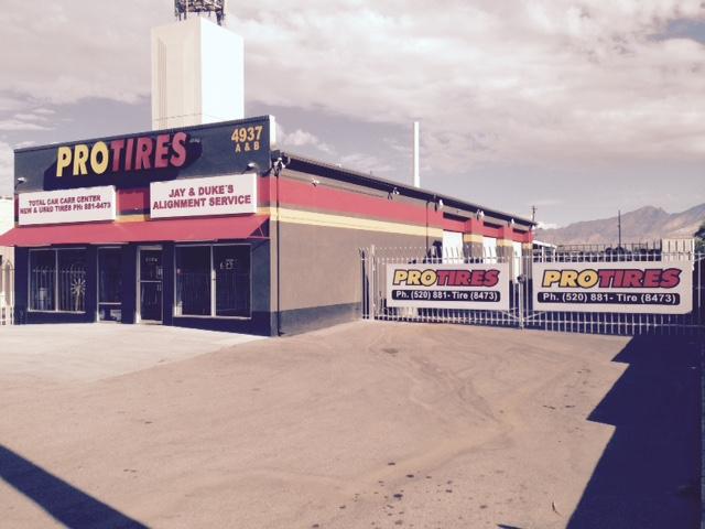 About Pro Tires In Tucson Az
