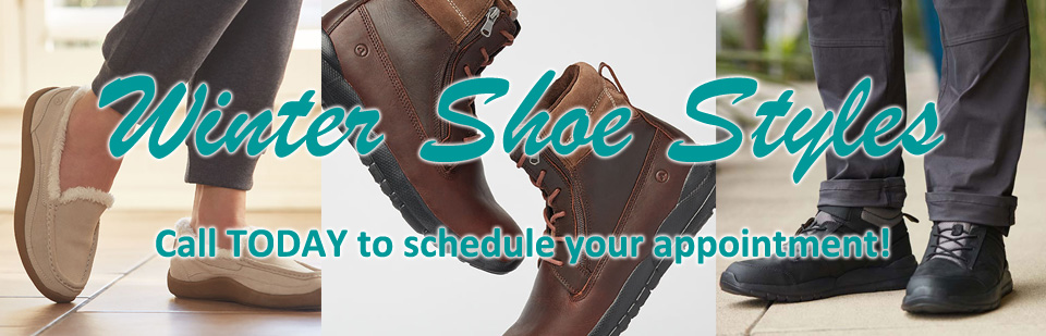 Winter Shoe Styles Now Available!