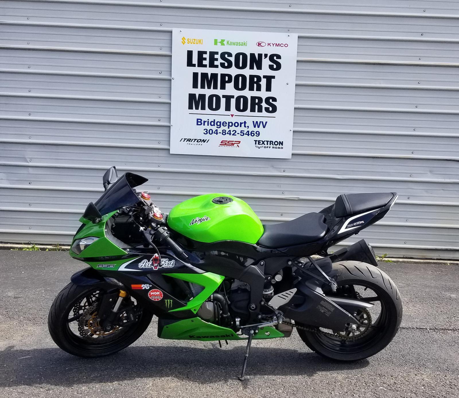 2013 Kawasaki Ninja® ZX™-6R for sale in Bridgeport, WV