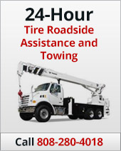 24-Hour Tire Roadside Assistance and Towing