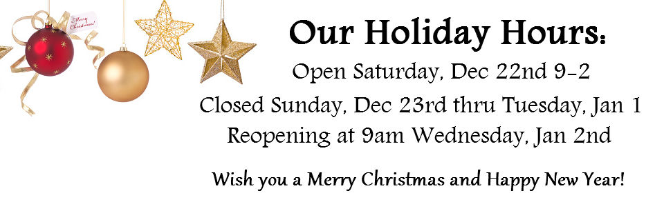CLS Holiday hours