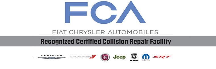 Fiat Chrysler Certified Collision Repair, Houston, Texas