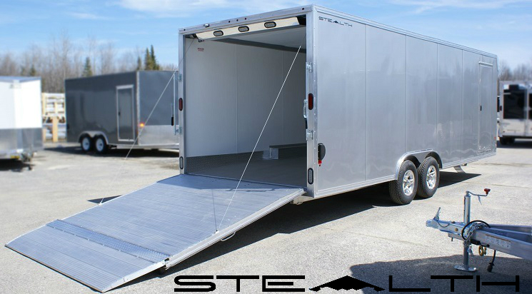 Stealth Trailers Banner