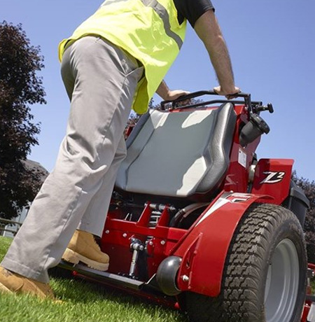 Stand On Commercial Lawn Mowers