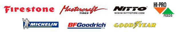 We carry Firestone, Mastercraft, Nitto, Hi-Pro, Michelin®, BFGoodrich®, and Goodyear.