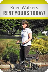 Knee Walkers - Rent Yours Today!