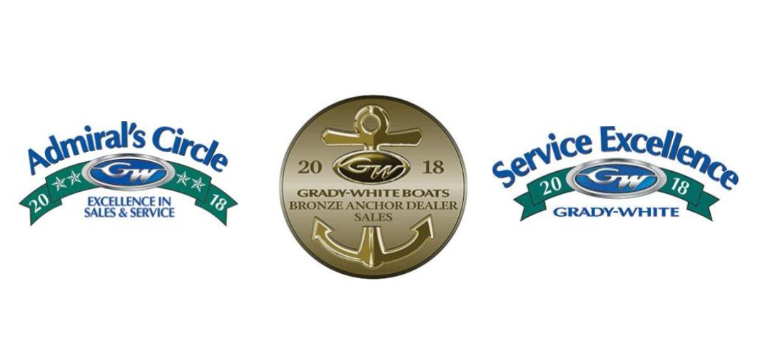 Naples, FL, Grady-White Dealership Sales & Service Achievement Awards