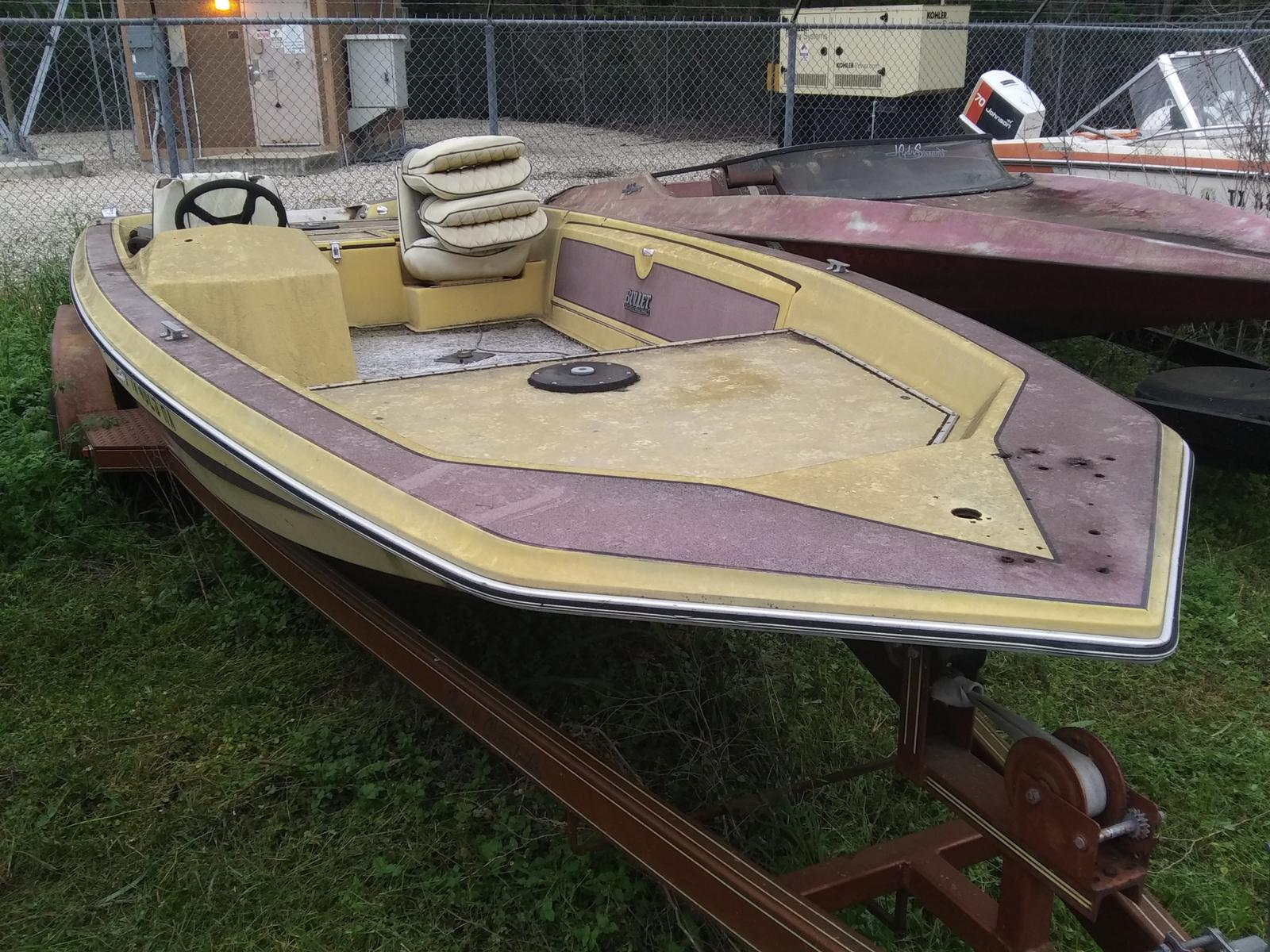 1986 Bullet boat for sale, model of the boat is 18 & Image # 1 of 3