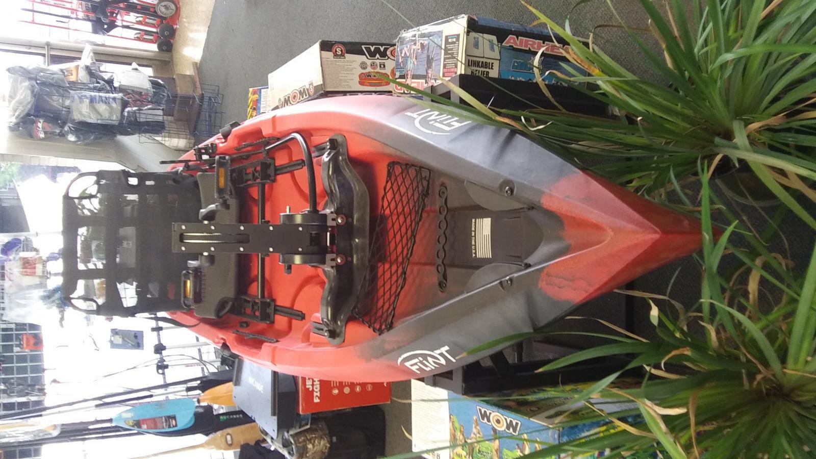 2021 NuCanoe boat for sale, model of the boat is Flint w/PIVOTDRIVE & Image # 2 of 3