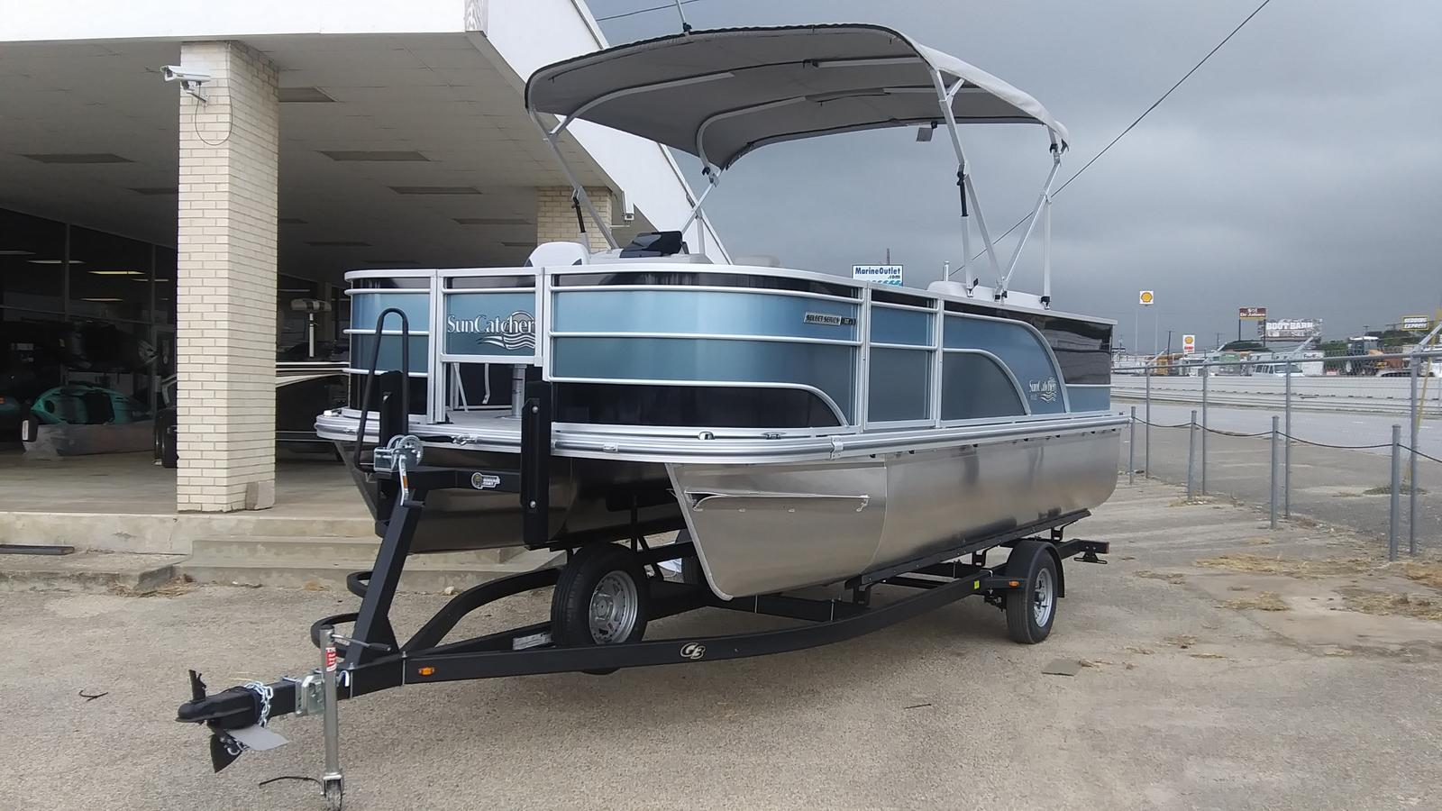 2021 SunCatcher boat for sale, model of the boat is Select 18f & Image # 1 of 7