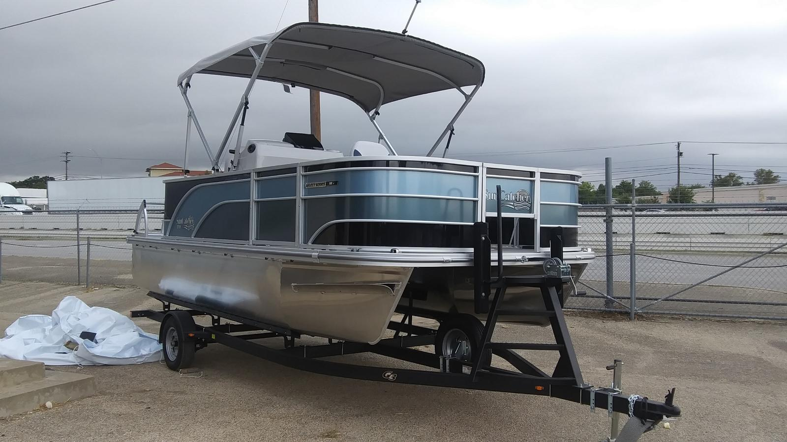 2021 SunCatcher boat for sale, model of the boat is Select 18f & Image # 2 of 7