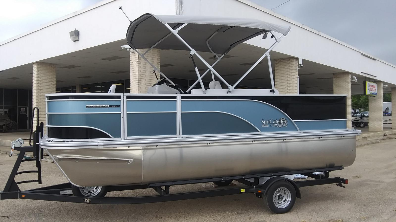 2021 SunCatcher boat for sale, model of the boat is Select 18f & Image # 3 of 7