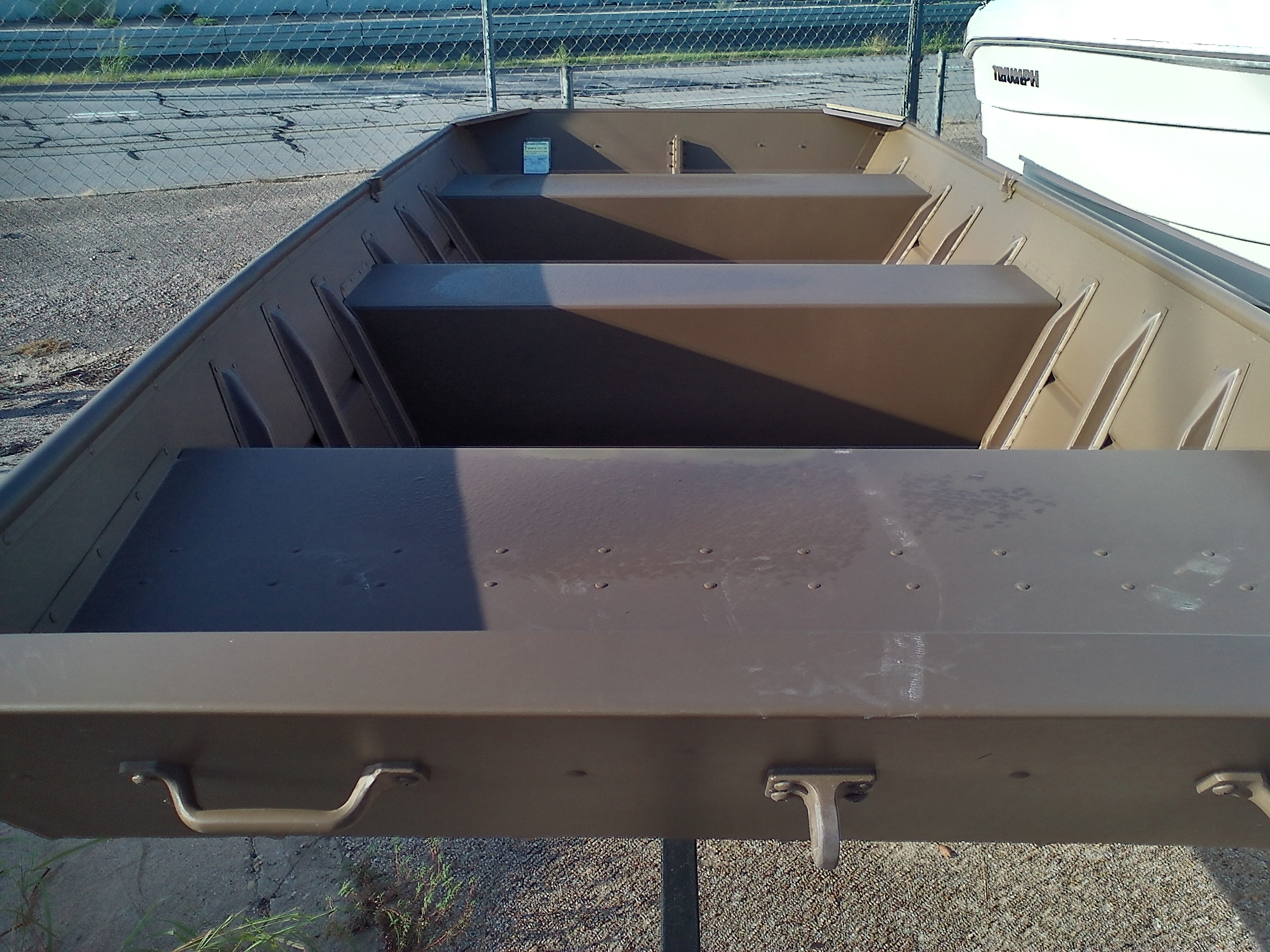 2021 Smoker Craft boat for sale, model of the boat is Jon 1448 & Image # 2 of 3