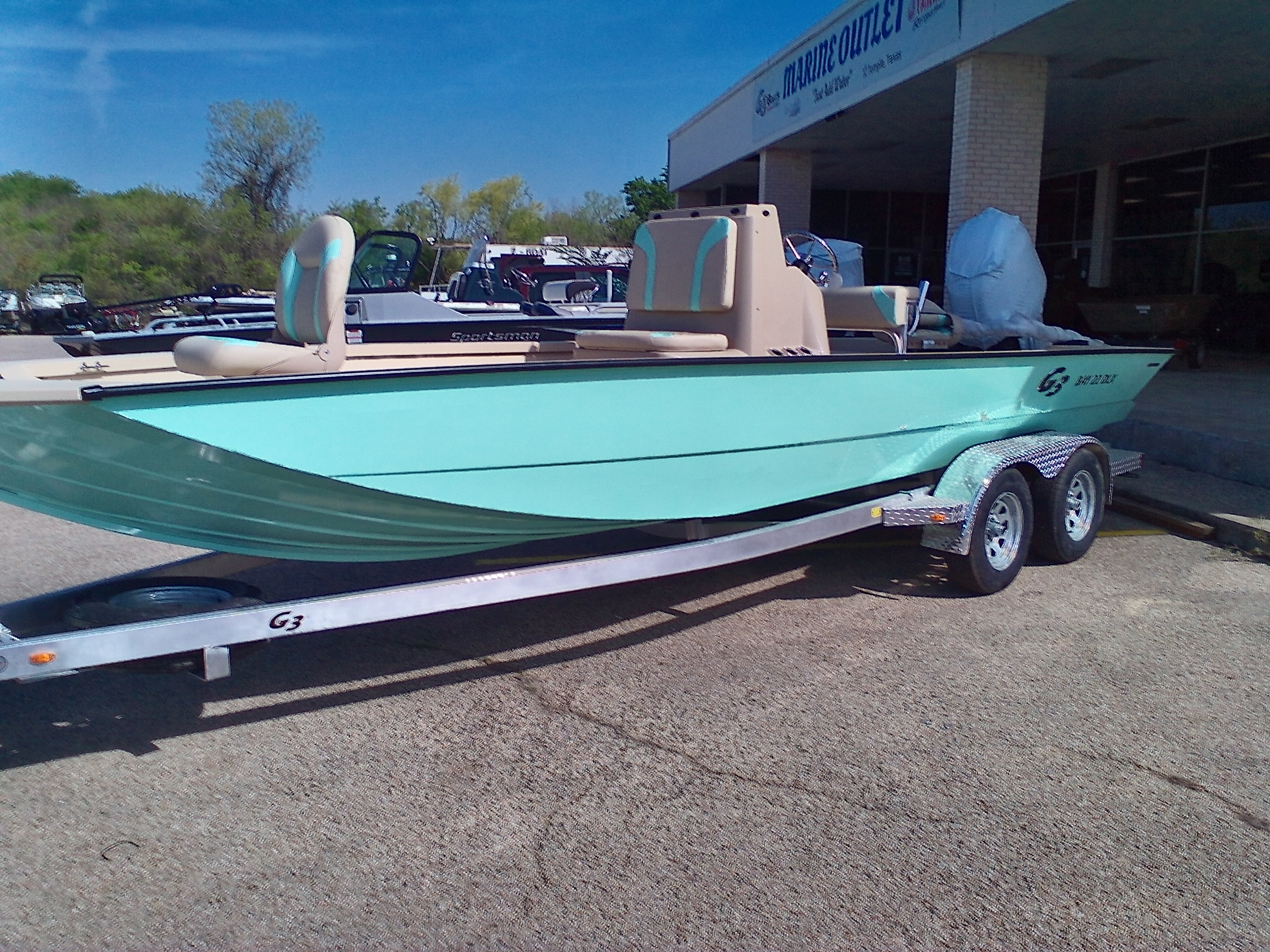 2021 G3 Boats boat for sale, model of the boat is BAY 22 DLX & Image # 1 of 6