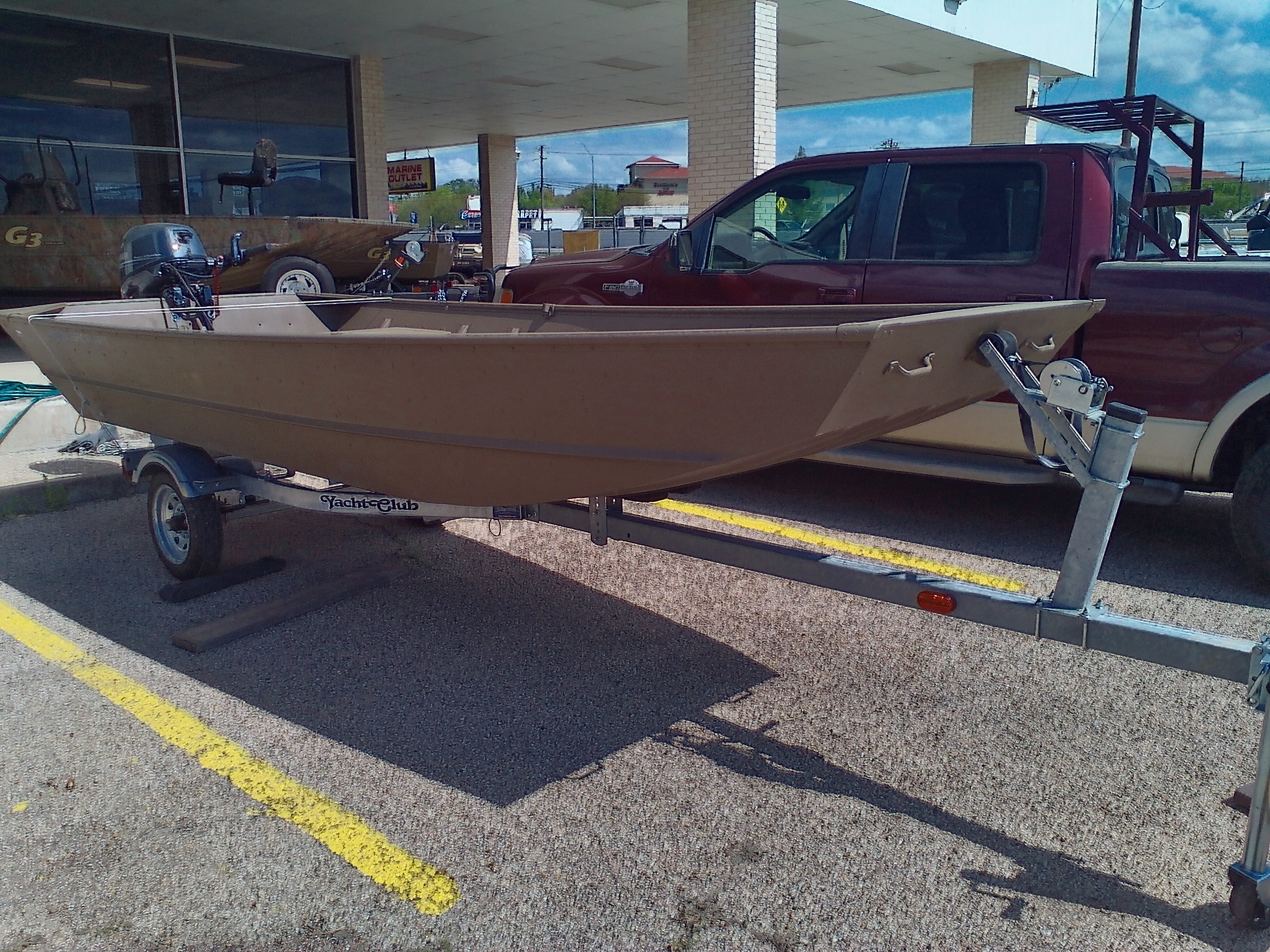 2021 Smoker Craft boat for sale, model of the boat is Jon 1448 & Image # 1 of 3