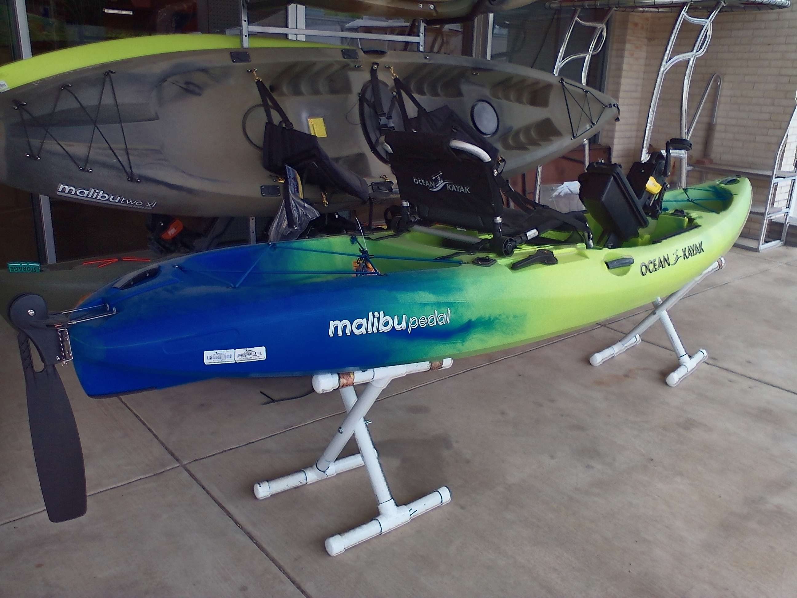 2021 Ocean Kayak boat for sale, model of the boat is Malibu PDL 12 & Image # 2 of 3