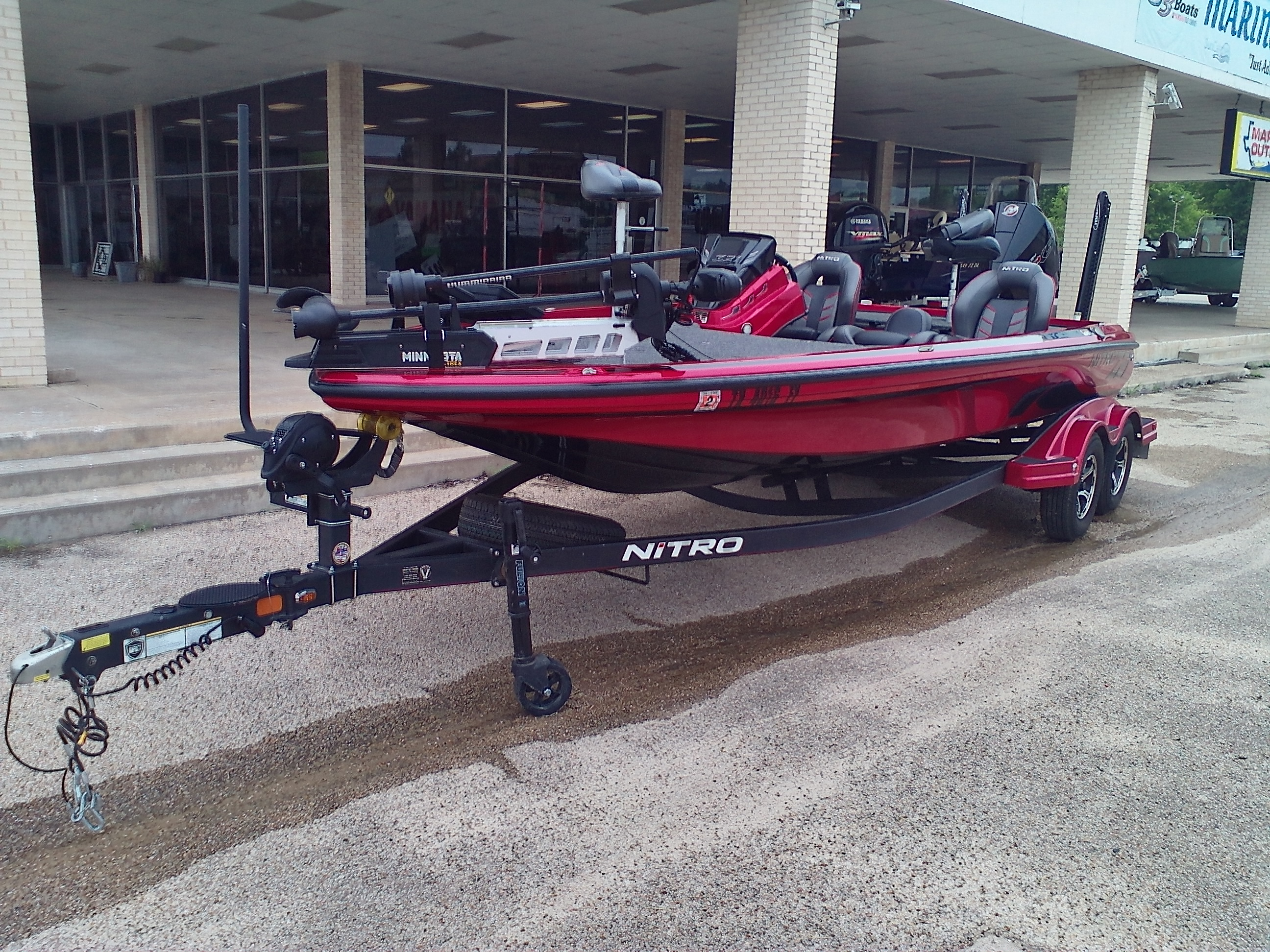 2020 Nitro boat for sale, model of the boat is Z21 & Image # 1 of 11