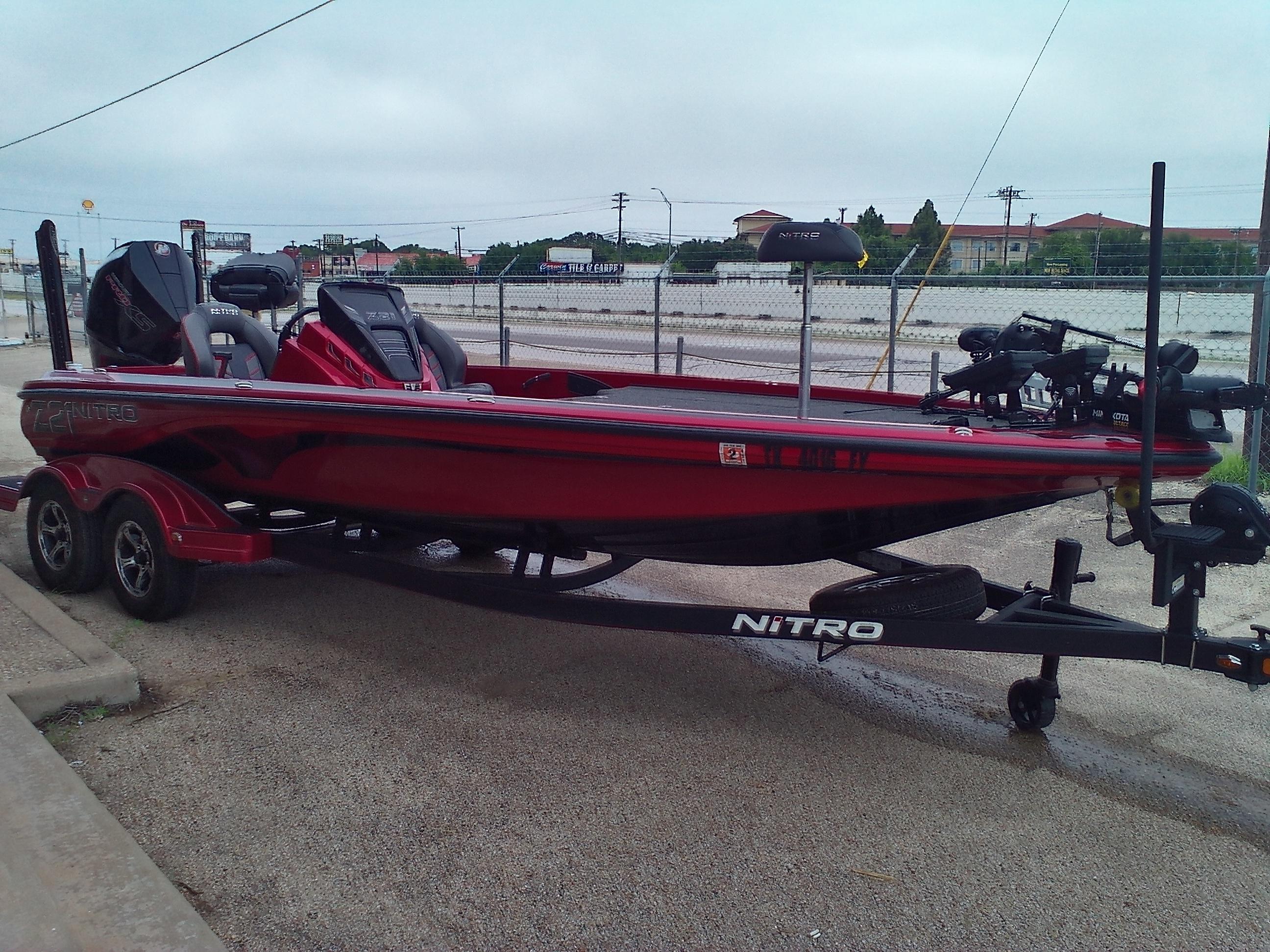 2020 Nitro boat for sale, model of the boat is Z21 & Image # 2 of 11