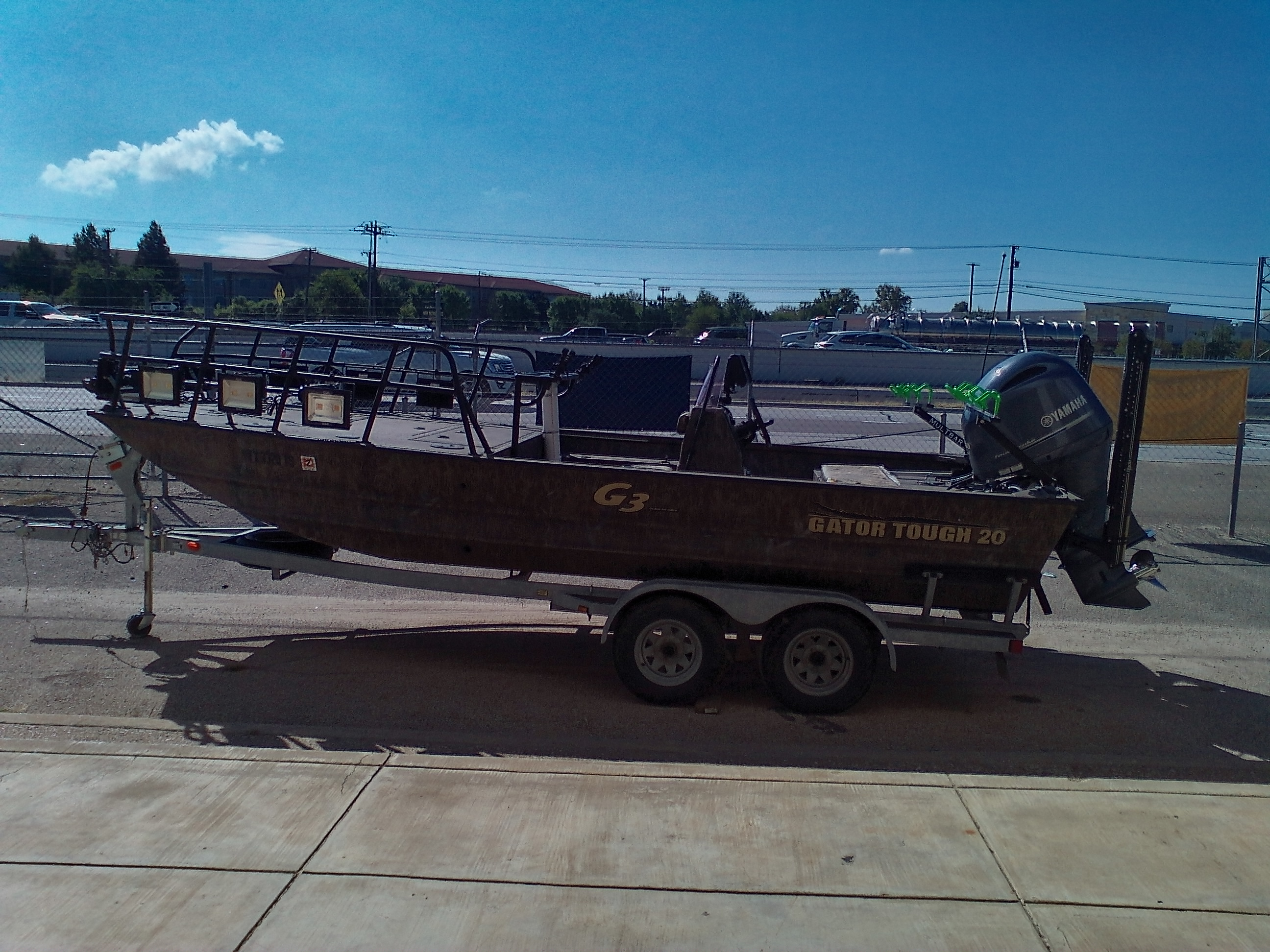 2018 G3 Boats boat for sale, model of the boat is Gator Tough 20 Bow Fish & Image # 1 of 9