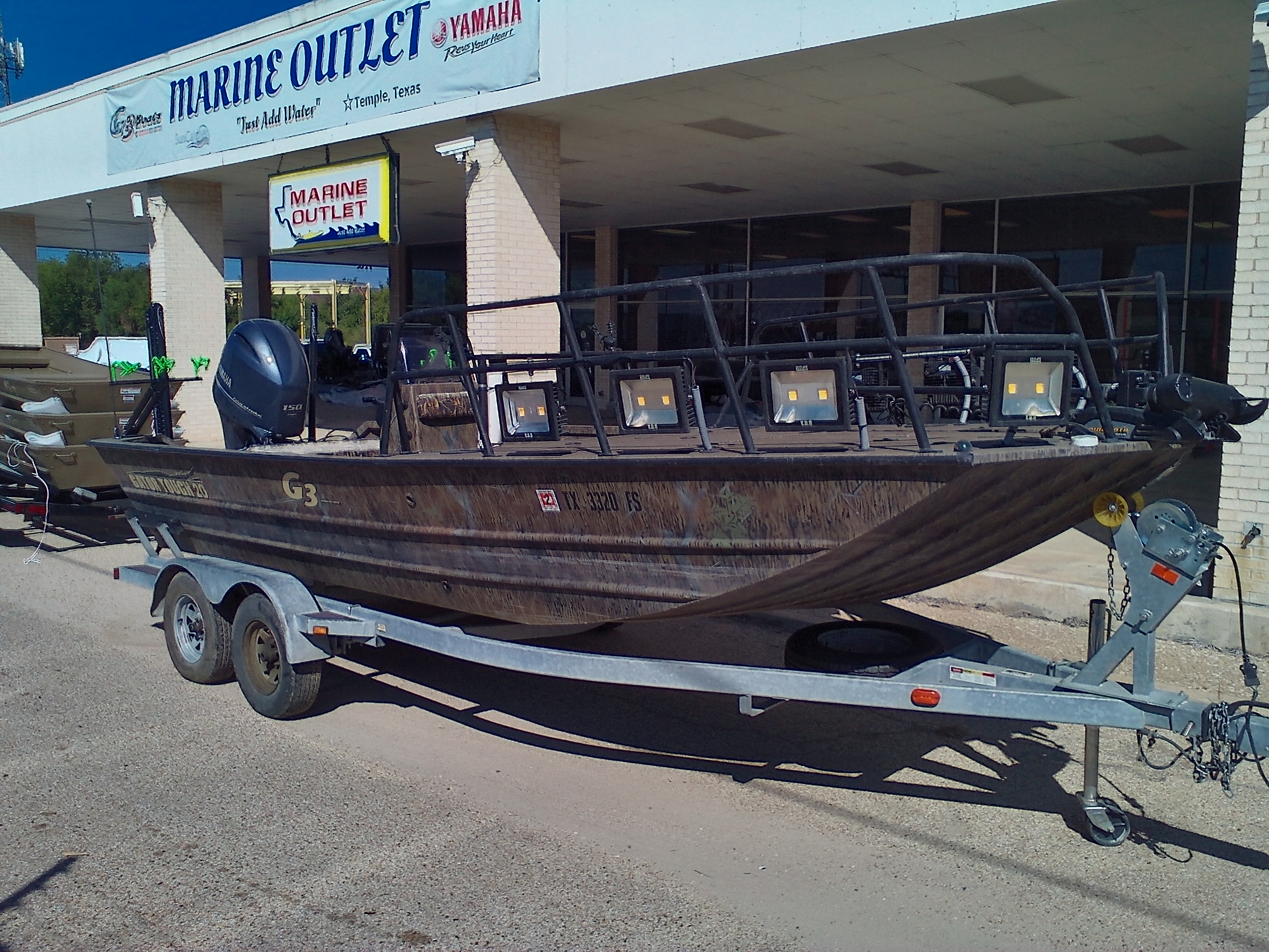 2018 G3 Boats boat for sale, model of the boat is Gator Tough 20 Bow Fish & Image # 3 of 9