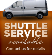 Shuttle Service Available. Contact us for details.