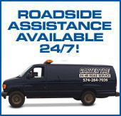 Roadside Assistance Available 24/7!