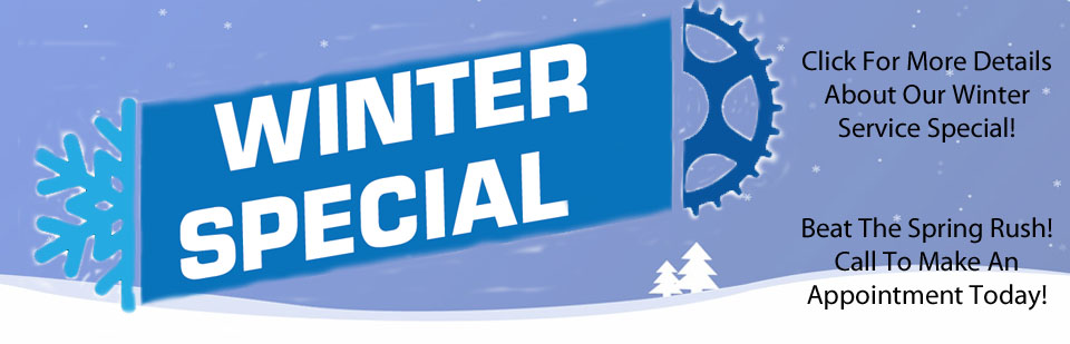 Call To Schedule Your Winter Service Appointment Today!