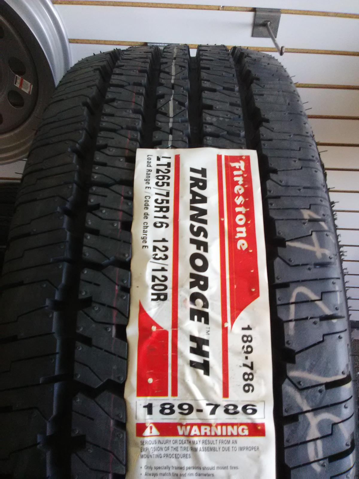 new concept 04632 263f4 LT265 75R16.  132 tire