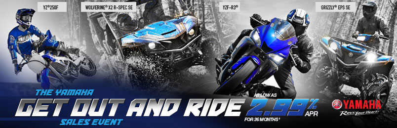 Yamaha Get Out and Ride Banner Ad