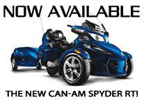 Now Available: The New Can-Am Spyder RT