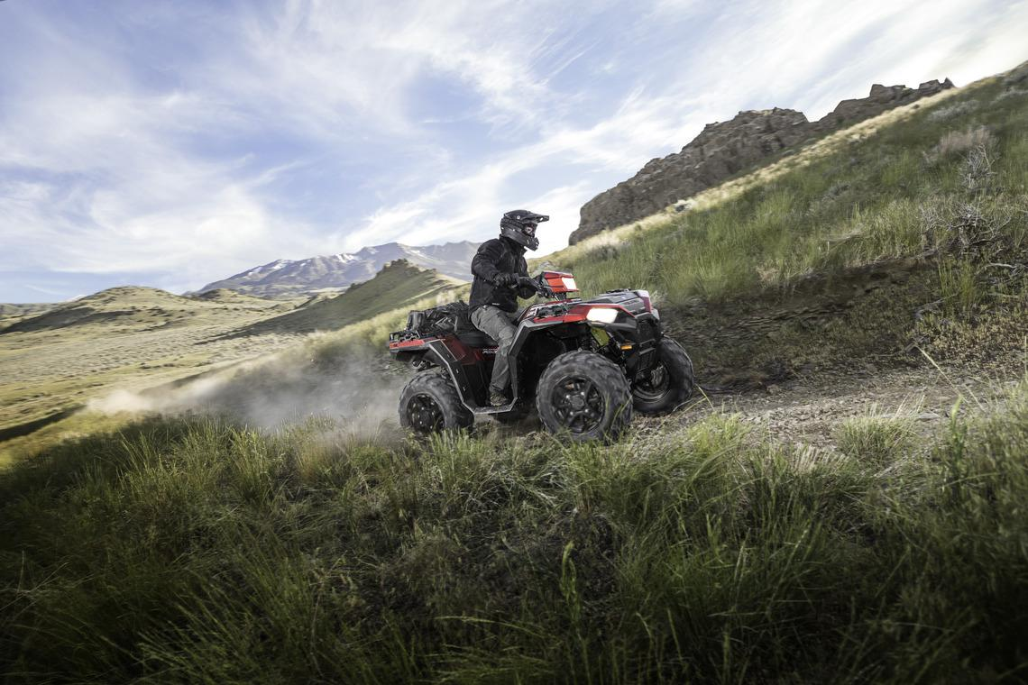 2018 polaris sportsmans ATV