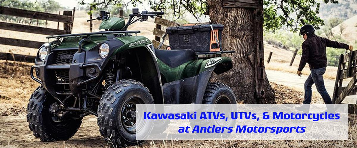 Kawasaki Powersport Dealer in Oklahoma - Kawasaki ATVs, UTVs, & Motorcycles in Antlers, OK