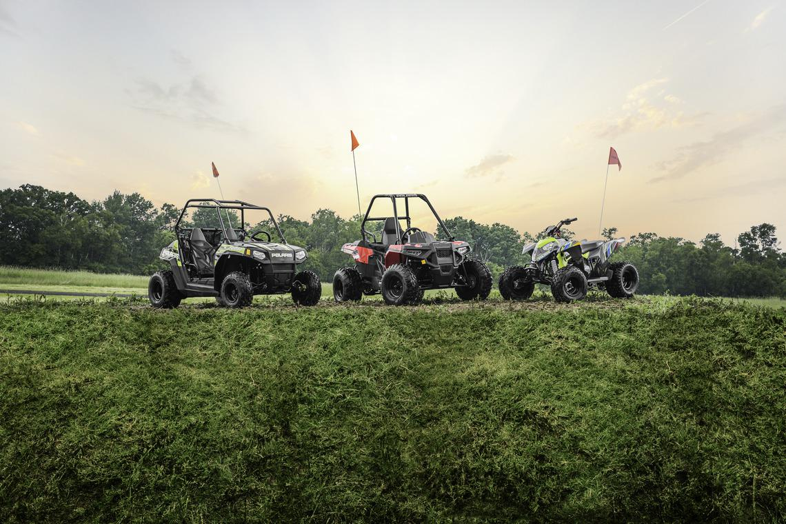 Polaris Youth Side x Sides and ATV