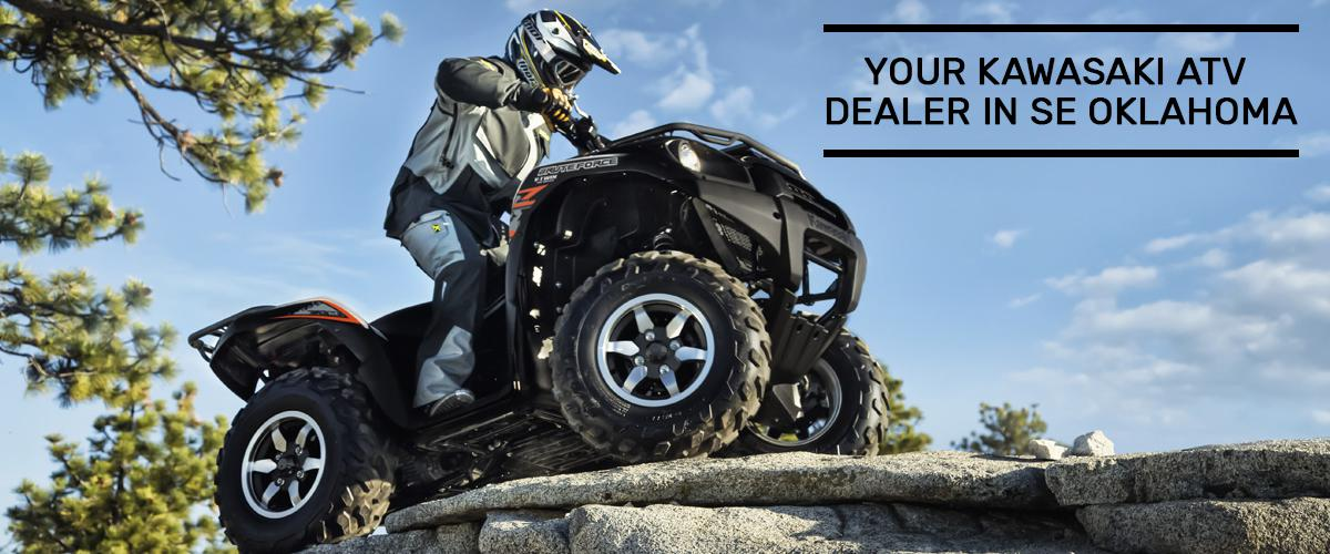 Shop In-Stock Kawasaki ATVs