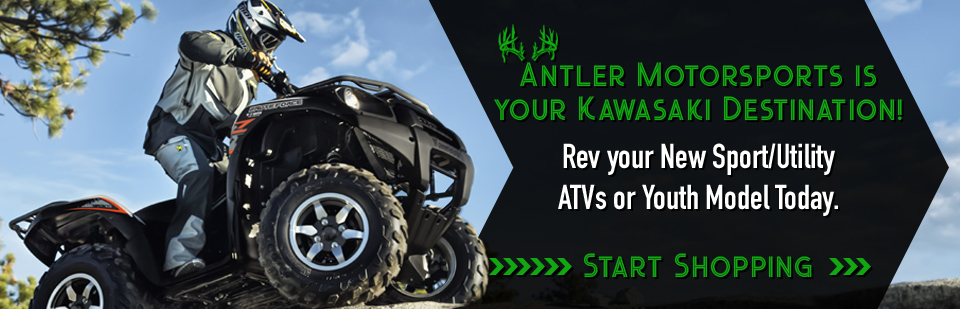 Kawasaki ATVs for Sale