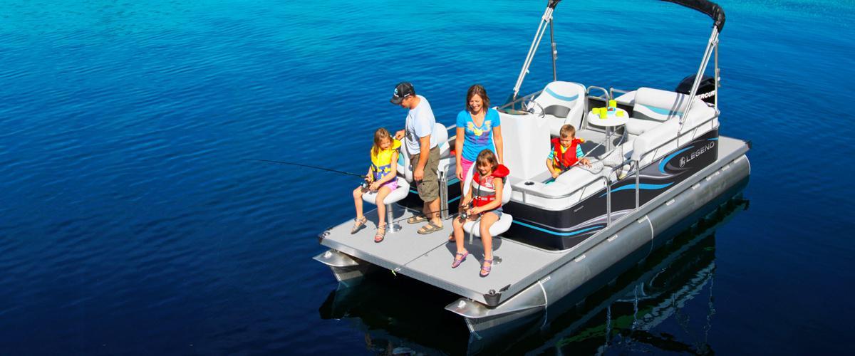 Legend Pontoon Boats Harris Boat Works Gores Landing, ON